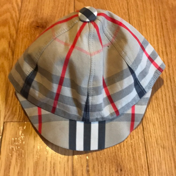 Burberry Other - Burberry check plaid baby cap hat cotton 4236ef40dcfe